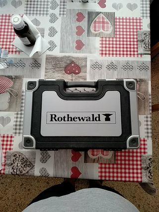 caja herramientas Rothewald pulgadas Harley