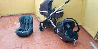 carrito bebe silla paseo marca Chicco