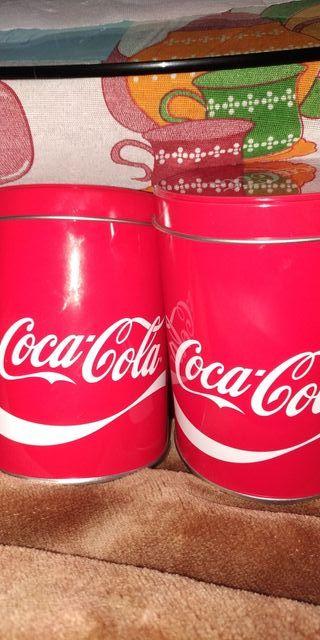conjunto de 4 cajas de lata