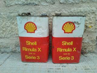 Latas lubricante Shell