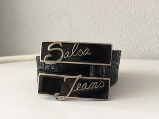 Cinturón salsa jeans cuero