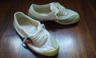 Zapatillas kawasaki blancas