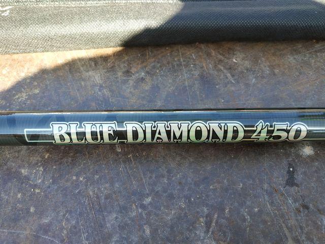 caña blue Diamond carbono