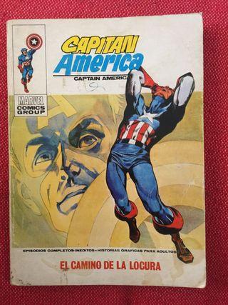 Capitán America. El camino de la locura.