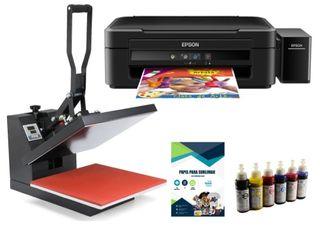 plancha e impresora de sublimación
