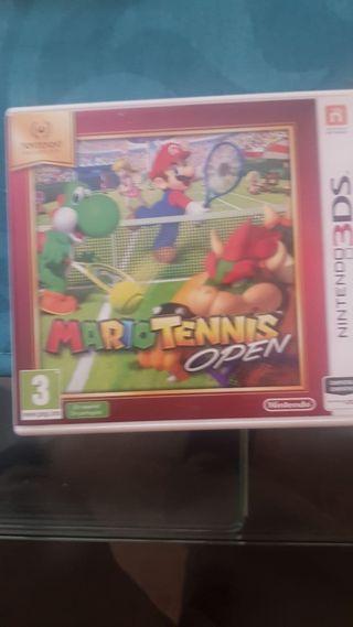 Vendo mario tennis open nintendo 3ds