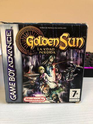 Golden sun la edad perdida