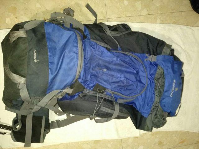 Mochila expedición 100L con bolsillo térmico