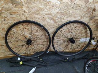 ruedas de carbono kasper 29 montadas a la carta