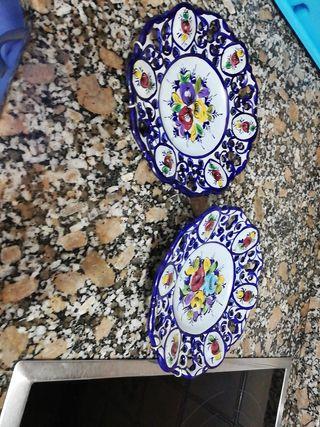 antiguos platos portugués