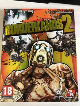 Edición limitada de Borderlands 2 para ps3