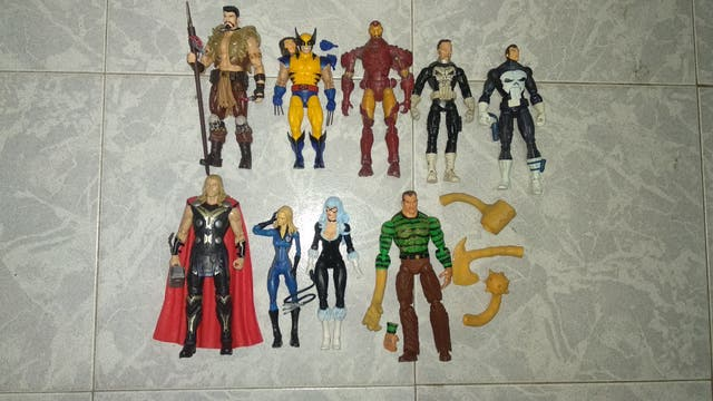 Figuras variadas Marvel Legends