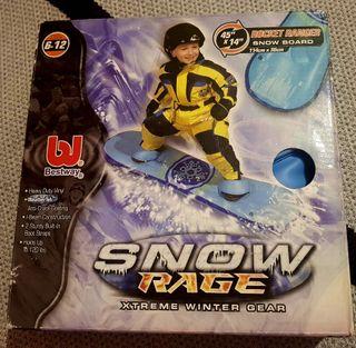 tabla snow hinchable