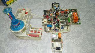 Camión y centro micromachines