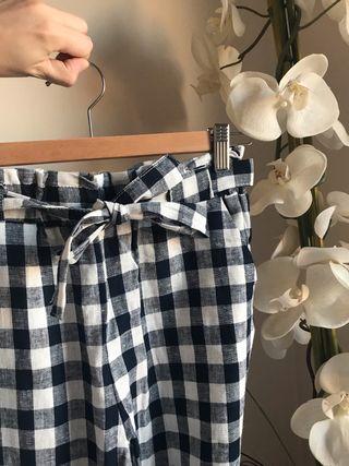 Pantalon de lino Mango