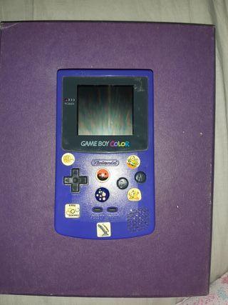 Game Boy color mas juego pokemon plata