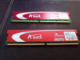Memoria ram ADATA 2x 2gb DDR2