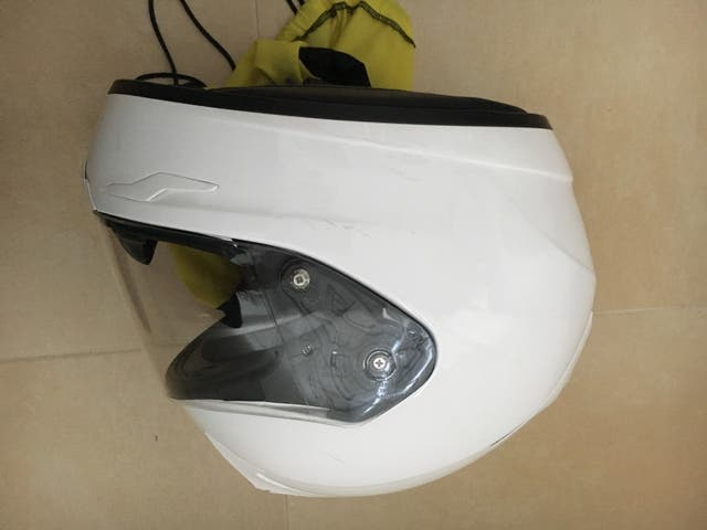 Casco blanco scorpio Exo 510 Air