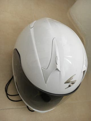 Casco blanco scorpio Exo 510 Air