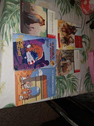 comics y libros de texto