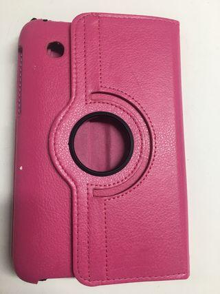 Funda tablet 360* Samsung Galaxy Tab2 rosa