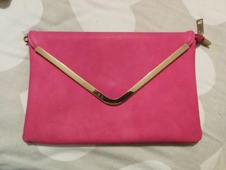 cartera rosa