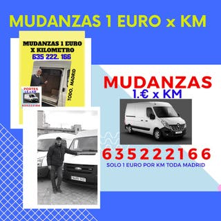 Mudanzas 1 euro por kilómetro