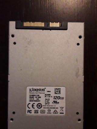 Disco Duro Kingston 120 gb SSD