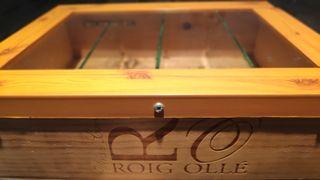 Caja de madera para almacenaje