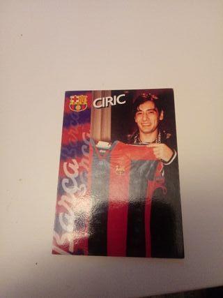 CROMO CIRIC 96/97