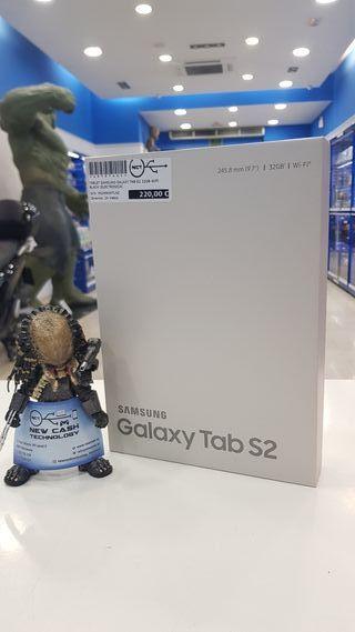 SAMSUNG GALAXY TAB S2 32GB WIFI BLACK PRECINTADA