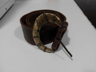 Cinturón mujer de cuero marrón