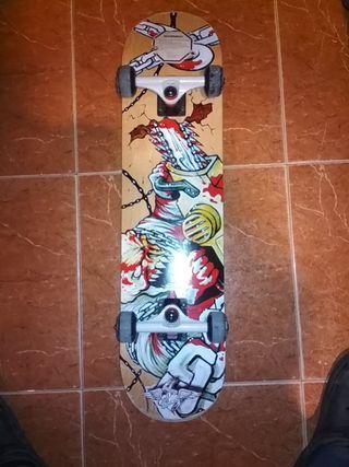 Skateboard Kryptonics Signature Series Chainsaw