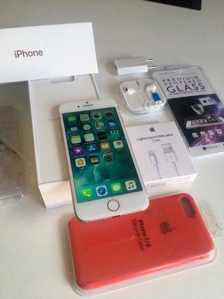 Iphone 7 con accesorios