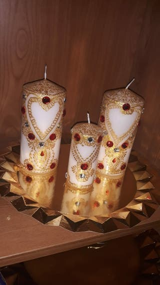 velas decorativas y personalizadas