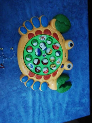 juguete caza peces