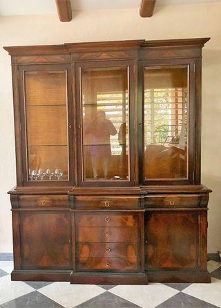 Mueble de salón madera maciza