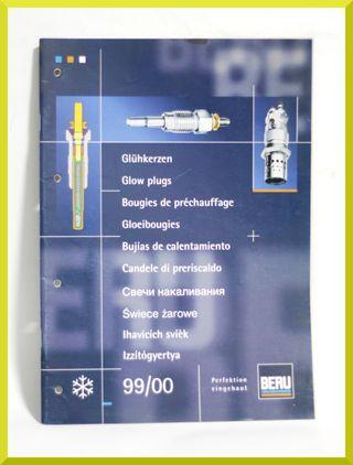 Catalogo Beru 99/00 Bujias de calentamiento