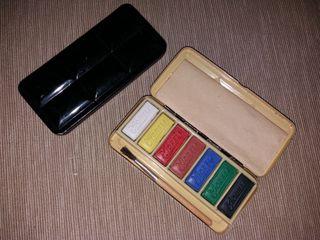 caja acuarelas antigua moreli