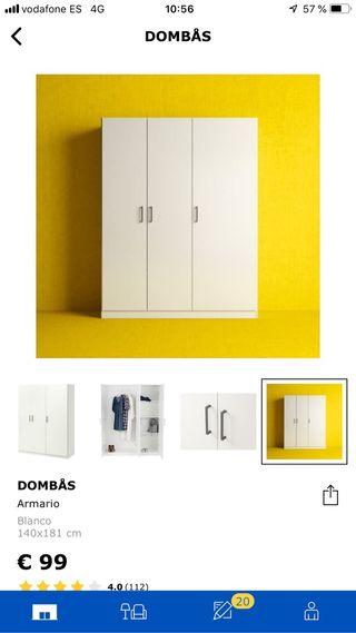Armario del Ikea