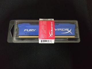 Memoria HyperX Fury Blue DDR3 4 Gb