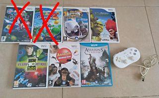 juegos Wii y Wii U.........