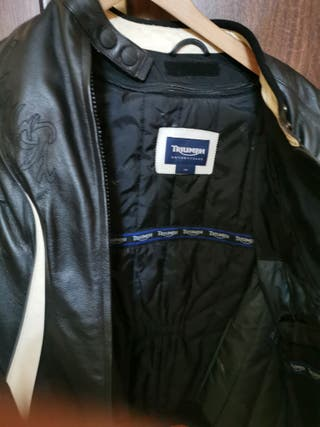 chaqueta moto mujer Triumph original