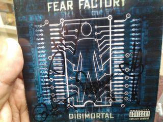 CD FEAR FACTORY+FIRMAS