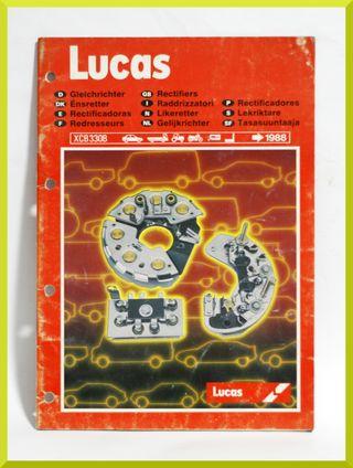 Catalogo Lucas Rectificadoras 1988