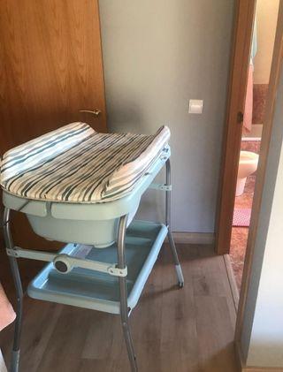 Cambiador/bañera para bebés Chicco
