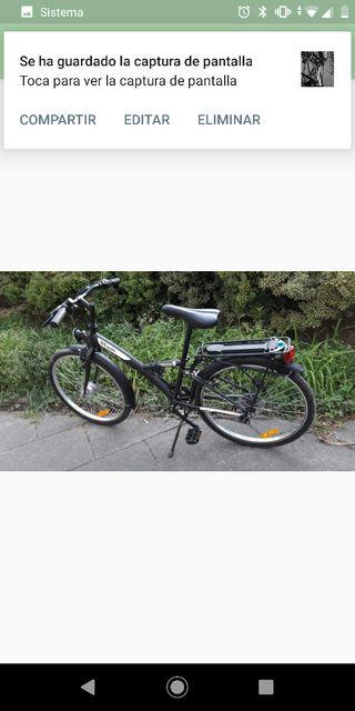 Bicicleta chica decathlon rueda 24