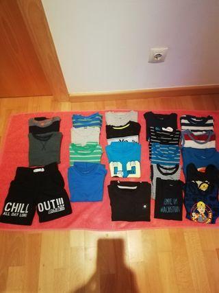 Lote de ropa niño primavera/verano talla 98/104