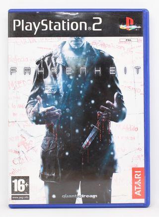Fahrenheit PlayStation 2 PAL España