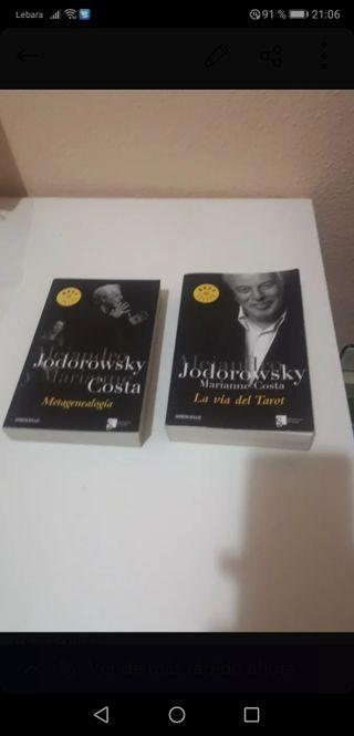 libros de Alejandro Jodorowsky